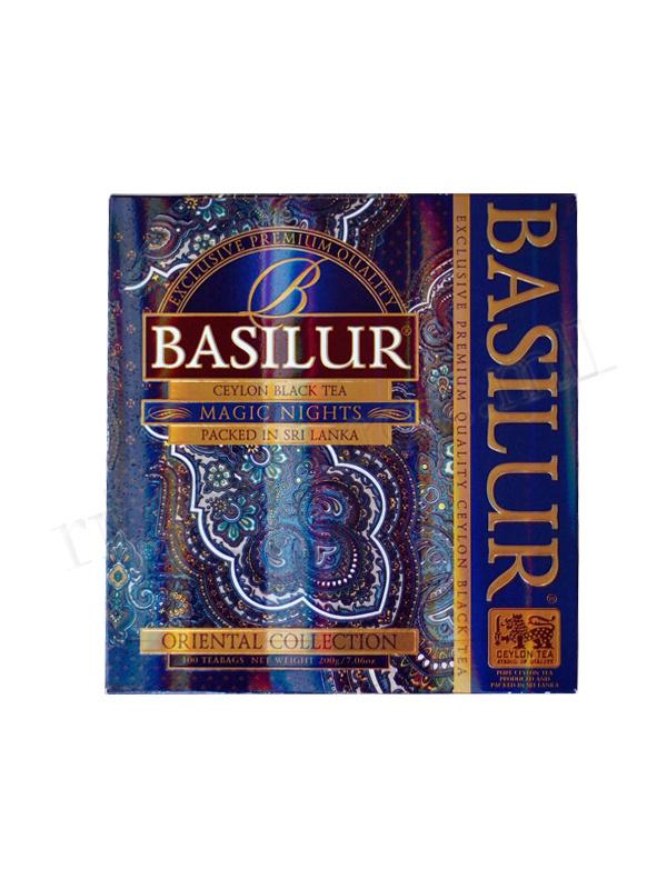 Basilur Oriental Collection Assorted 100 Tea Bags ~ 70932