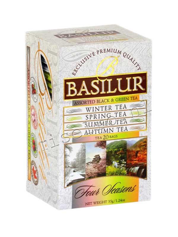 Basilur four seasons assorted Black & Green Tea