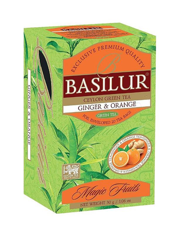 Basilur ginger and orange