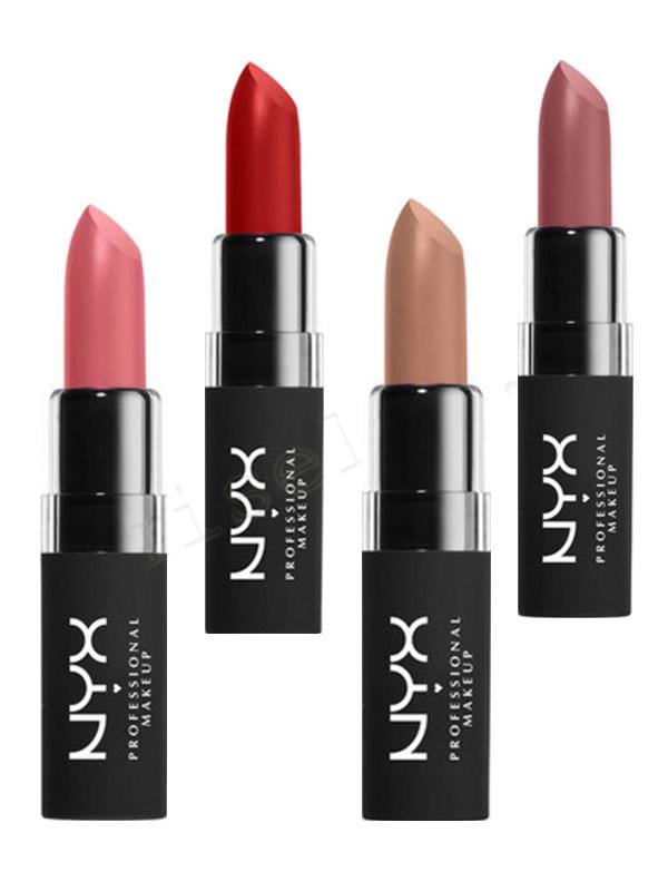 NYX Velvet Matte Lipstick - 10 Effervescent