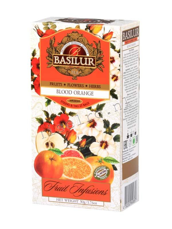 Basilur Boold Orange Fruit Infusions ~ 71405-00