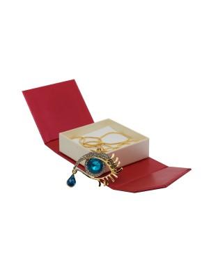 "Necklace ""eye"" - gold"