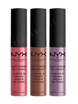 NYX Soft Matte Lip Cream Set 15