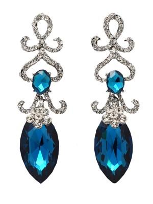 Bleu earrings