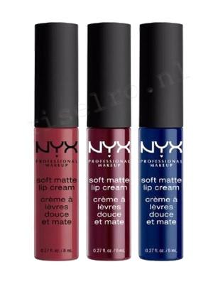 NYX Soft Matte Lip Cream Set 12